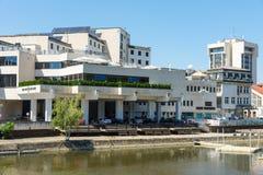 Modern hotel in Lovech in Bulgaria stock photo