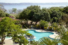 Modern hotel Occidental Grang Papagayo Stock Images