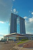 Modern hotel Osijek Stock Image