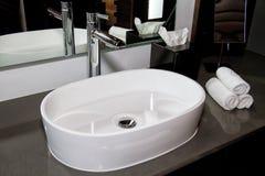 Modern Hotel Resort Bathroom Royalty Free Stock Photo
