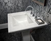 Modern Hotel Resort Bathroom Stock Photography