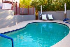 Modern Hotel Resort Hot Tub Spa Stock Photography