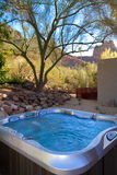Modern Hotel Resort Hot Tub Spa Royalty Free Stock Image