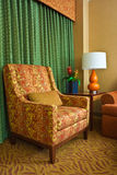 Modern Hotel Room. Armchair in a modern hotel room Stock Photos