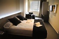 Modern hotel room royalty free stock image