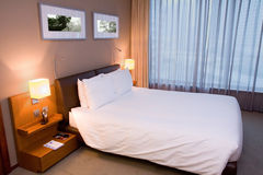 Modern Hotel room or Bedroom Royalty Free Stock Photography