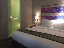 Modern hotel room royalty free stock photos