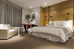 Modern hotel room Stock Images