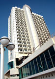 Modern hotel in Tel-Aviv Royalty Free Stock Photography