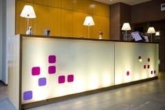 modern hotelllobby Royaltyfria Bilder
