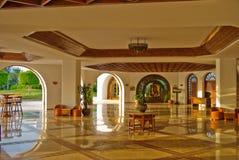 modern hotelllyx Arkivbild