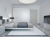 Modern hotellrumdesign Royaltyfri Fotografi