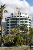 Modern hotels on Playa de Las Americas, Tenerife Royalty Free Stock Photo
