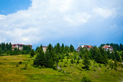 Modern hotels and property in Bulgaria Royalty Free Stock Photos