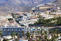 Modern hotels on Tenerife Stock Image