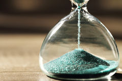Modern Hourglass. symbol of time. countdown Stock Images