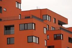 Modern house. Urban development in city Stock Photo