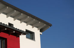 Modern house. Detail of a modern house in germany Stock Photos