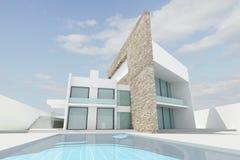 Free Modern House Stock Image - 12350611