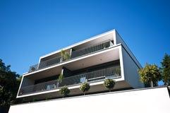 Modern house Stock Image