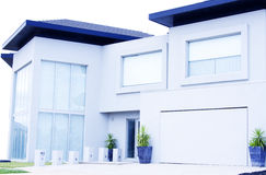 Modern house Stock Images
