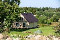 The modern house Stock Photo