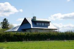 The modern house Stock Photos