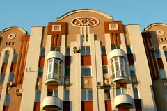 Modern house. In Saratov city Stock Photo
