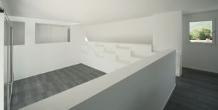 Modern house. Internal view of a modern house Royalty Free Stock Photography