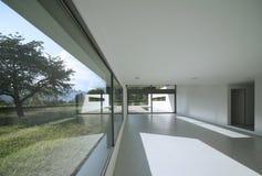 Modern house. Internal view of a modern house Stock Photography