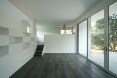 Modern house. Internal view of a modern house Stock Photo