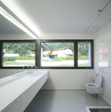 Modern house. Indoor view of a modern house Stock Images