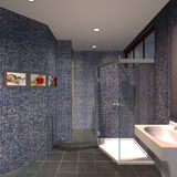 Modern House - Bathroom Stock Images