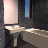 Modern House - Bathroom Stock Image