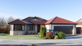 Modern house - bungalow Royalty Free Stock Photography