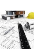 Modern House Concept Stock Photo