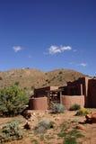 Modern house in desert mesa Royalty Free Stock Image