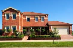 Modern house design Stock Images