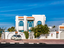Modern house in Dubai Royalty Free Stock Photography