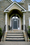 Modern house entrance Royalty Free Stock Photo