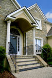 Modern house entrance Stock Image