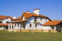 Modern house exterior Stock Image