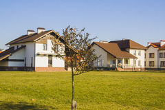 Modern house exterior Royalty Free Stock Images