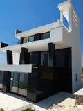 Modern house Stock Photos