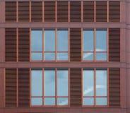 Modern house facade Royalty Free Stock Image