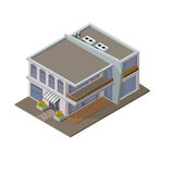 Modern house  icon Royalty Free Stock Images