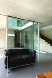 Modern house interior stock photos