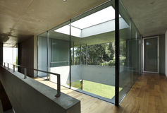 Modern house interior Stock Images
