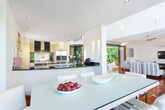 Modern house interior Royalty Free Stock Image