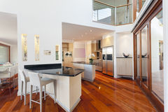 Modern house interior Royalty Free Stock Photography